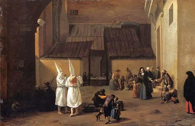 People Whipped Themselve... is listed (or ranked) 3 on the list Tragic Ways The Black Death Put A Curse On The Jews
