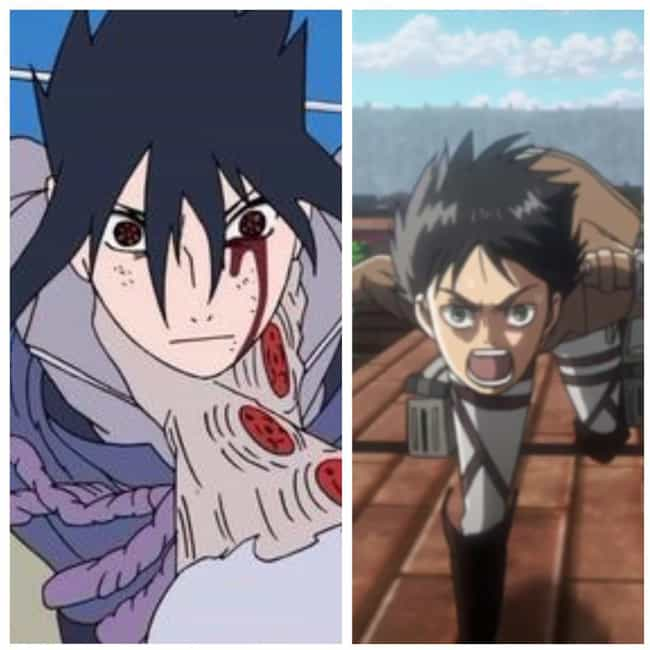 Sasuke Uchiha From Naruto And ... is listed (or ranked) 3 on the list Anime Characters You Never Realized Have Exactly The Same Tragic Backstory