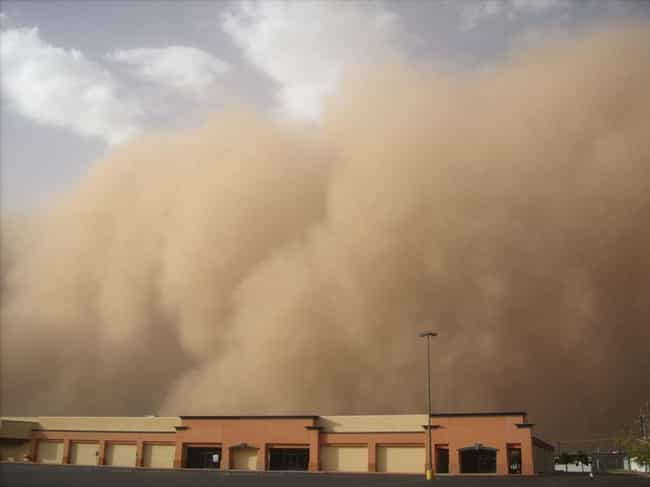 Haboobs Are Massive Wall... is listed (or ranked) 2 on the list Dread-Inducing Pictures Of Haboob Sandstorms Coming Right At You