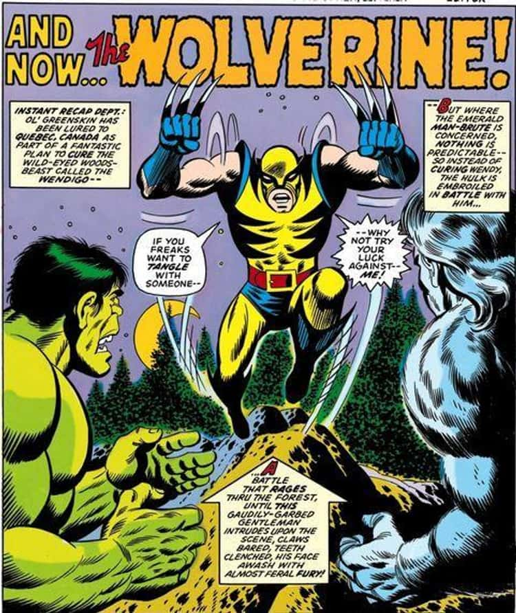 Artists John Romita Sr. And Herb Trimpe Came Up With A Unique Design