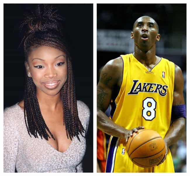 Brandy And Kobe Bryant is listed (or ranked) 1 on the list 10 Celebrity Couples Who Went To Prom Together