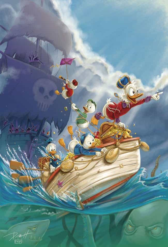 Clear Sailin' is listed (or ranked) 4 on the list 20 Insane DuckTales Fan Art Recreations Even Scrooge Would Appreciate