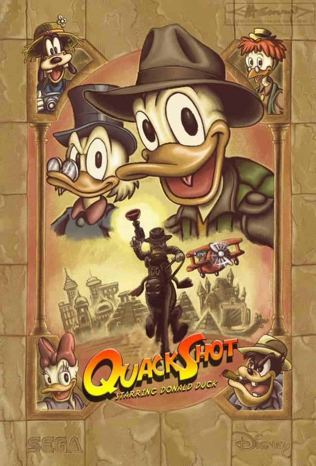 QuackShot is listed (or ranked) 2 on the list 20 Insane DuckTales Fan Art Recreations Even Scrooge Would Appreciate
