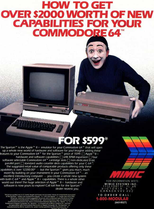 Spartan Apple II+ Emulator: $5... is listed (or ranked) 1 on the list 20 Hilarious Ads For Obsolete Technology That Used To Be Insanely Expensive
