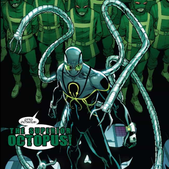 Superior Octopus is listed (or ranked) 4 on the list Clones Of Your Favorite Comic Book Characters Who Didn't Turn Out Lame