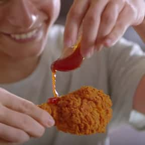 Flaming Hot Sauce - KFC is listed (or ranked) 11 on the list Discontinued Fast Food Sauces That Were Better Than Drugs