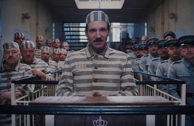 M. Gustave In Prison / T... is listed (or ranked) 2 on the list 15 Of Wes Anderson's Most Symmetrical Shots That'll Soothe Symmetry Lovers