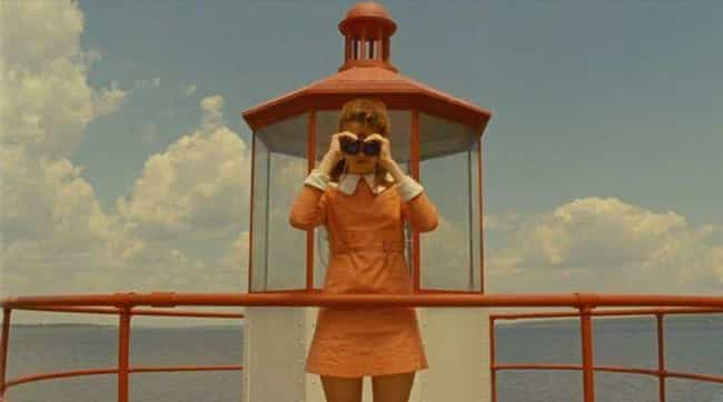 Suzy At The Lighthouse /... is listed (or ranked) 3 on the list 15 Of Wes Anderson's Most Symmetrical Shots That'll Soothe Symmetry Lovers