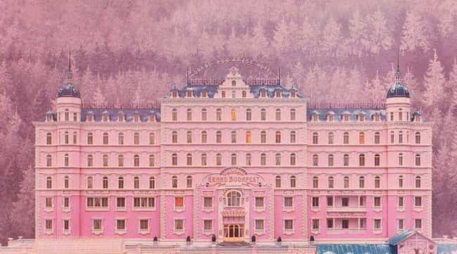 The Grand Budapest Hotel... is listed (or ranked) 1 on the list 15 Of Wes Anderson's Most Symmetrical Shots That'll Soothe Symmetry Lovers