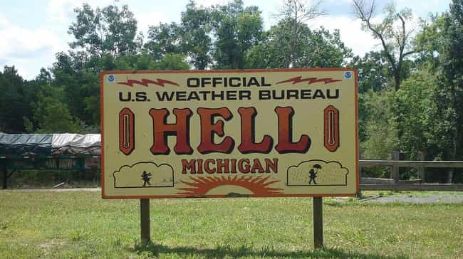 Hell, MI ?C A Town That Really Embraces Its Name