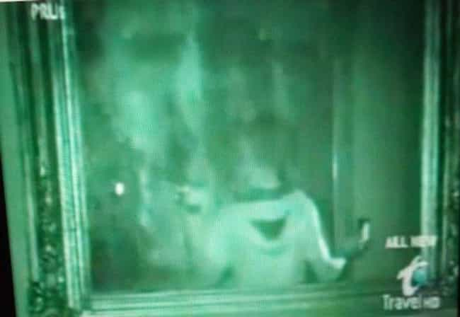 Face In The Mirror At Th... is listed (or ranked) 3 on the list Photos Depicting Ghosts Haunting American Plantations
