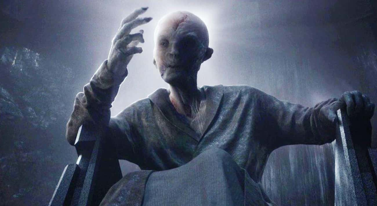 Snoke Is Just A Completely New is listed (or ranked) 2 on the list Theories About The Identity Of Supreme Leader Snoke In Star Wars