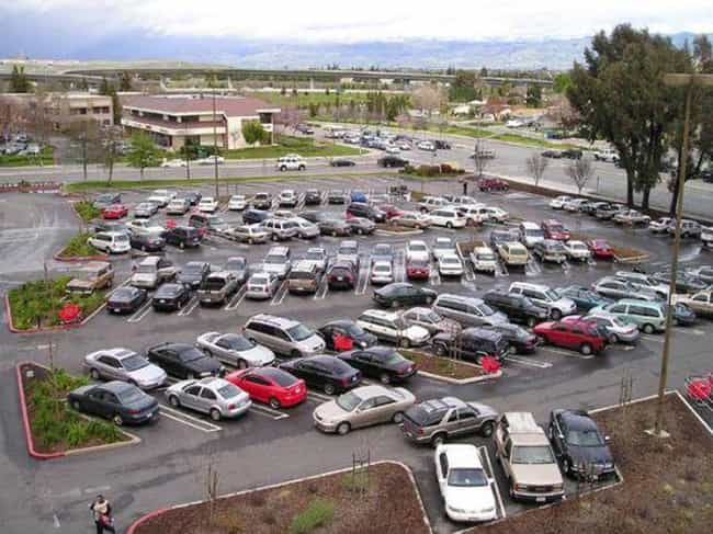Angled Parking Isn't Per... is listed (or ranked) 6 on the list Why Are Some Parking Lots Arranged Diagonally And Others Are Straight?