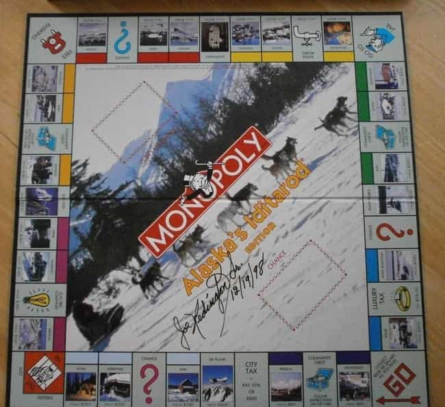 Alaska Iditarod Monopoly... is listed (or ranked) 4 on the list The 15 Most Unnecessary Versions Of Monopoly In Human History