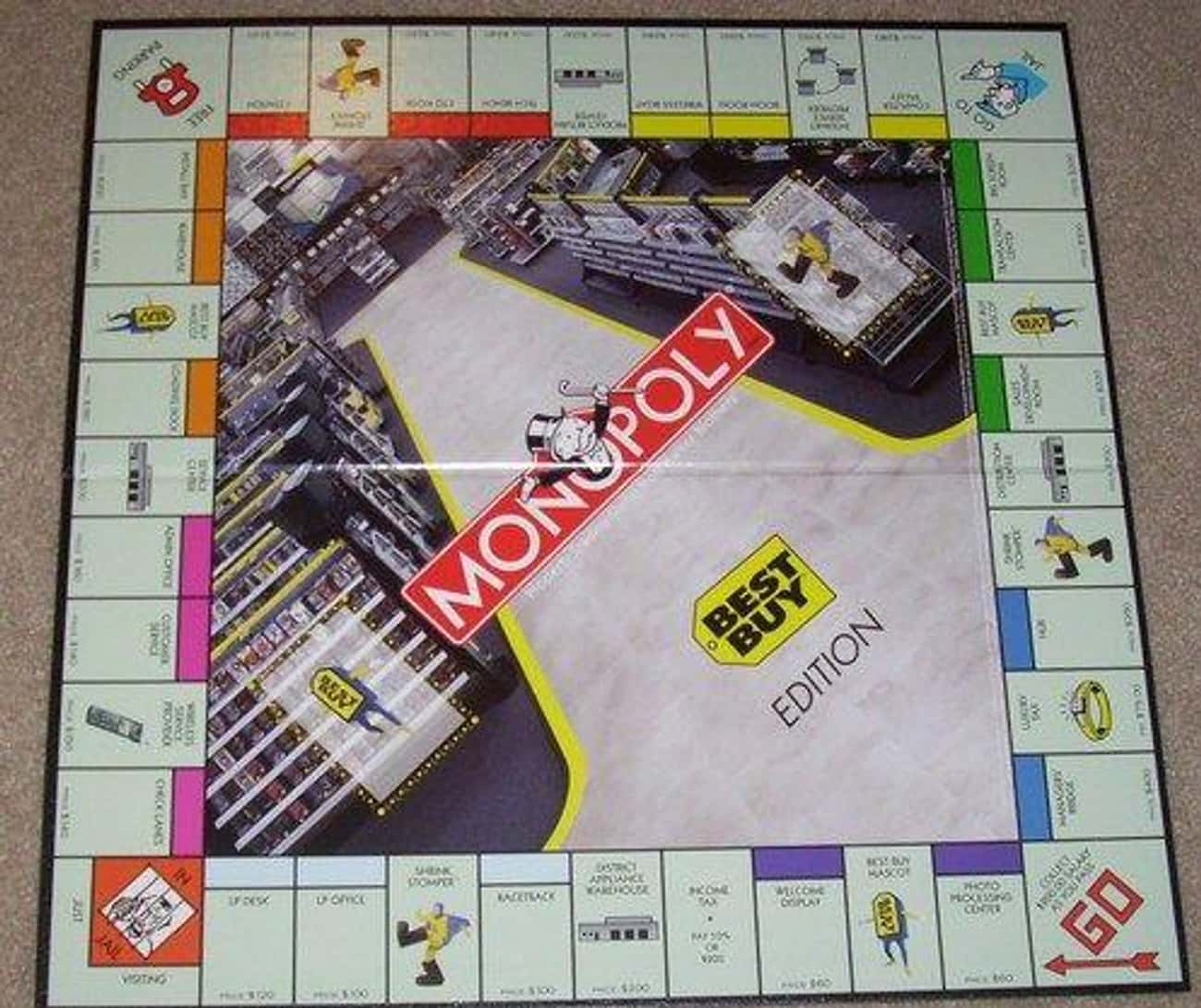 Monopoly: Best Buy Edition is listed (or ranked) 2 on the list The 15 Most Unnecessary Versions Of Monopoly In Human History