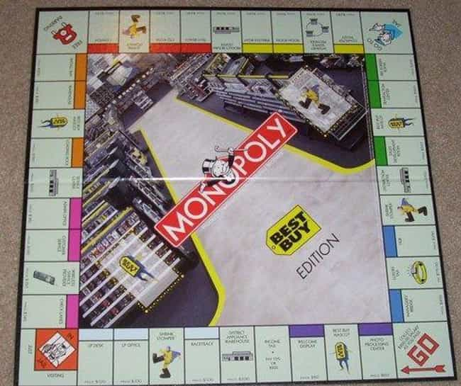 Monopoly: Best Buy Editi... is listed (or ranked) 2 on the list The 15 Most Unnecessary Versions Of Monopoly In Human History