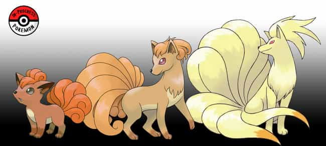 Vulpix - Ninetales is listed (or ranked) 1 on the list This Artist Creates The Missing Links Between Pokemon Evolutions