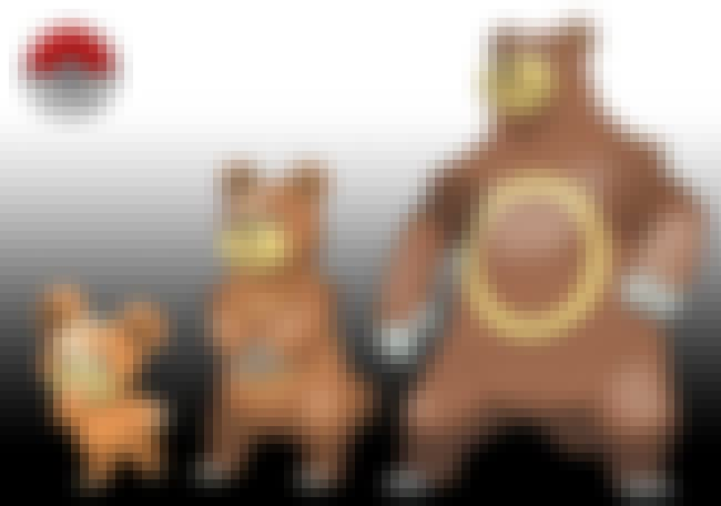 Teddiursa - Ursaring is listed (or ranked) 3 on the list This Artist Creates The Missing Link Between Pokemon Evolutions