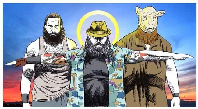 Wyatt Family Portrait is listed (or ranked) 4 on the list 22 Insane Bray Wyatt Fan Art Re-Creations