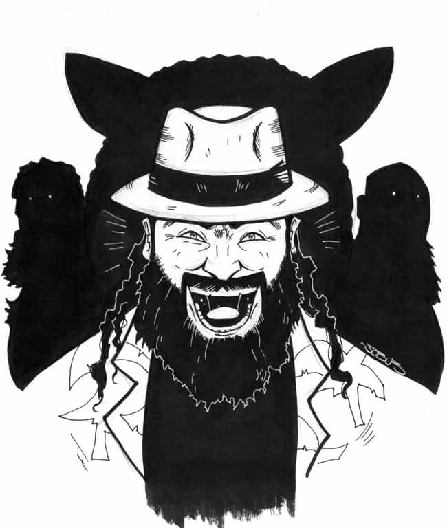 Black And White is listed (or ranked) 3 on the list 22 Insane Bray Wyatt Fan Art Re-Creations