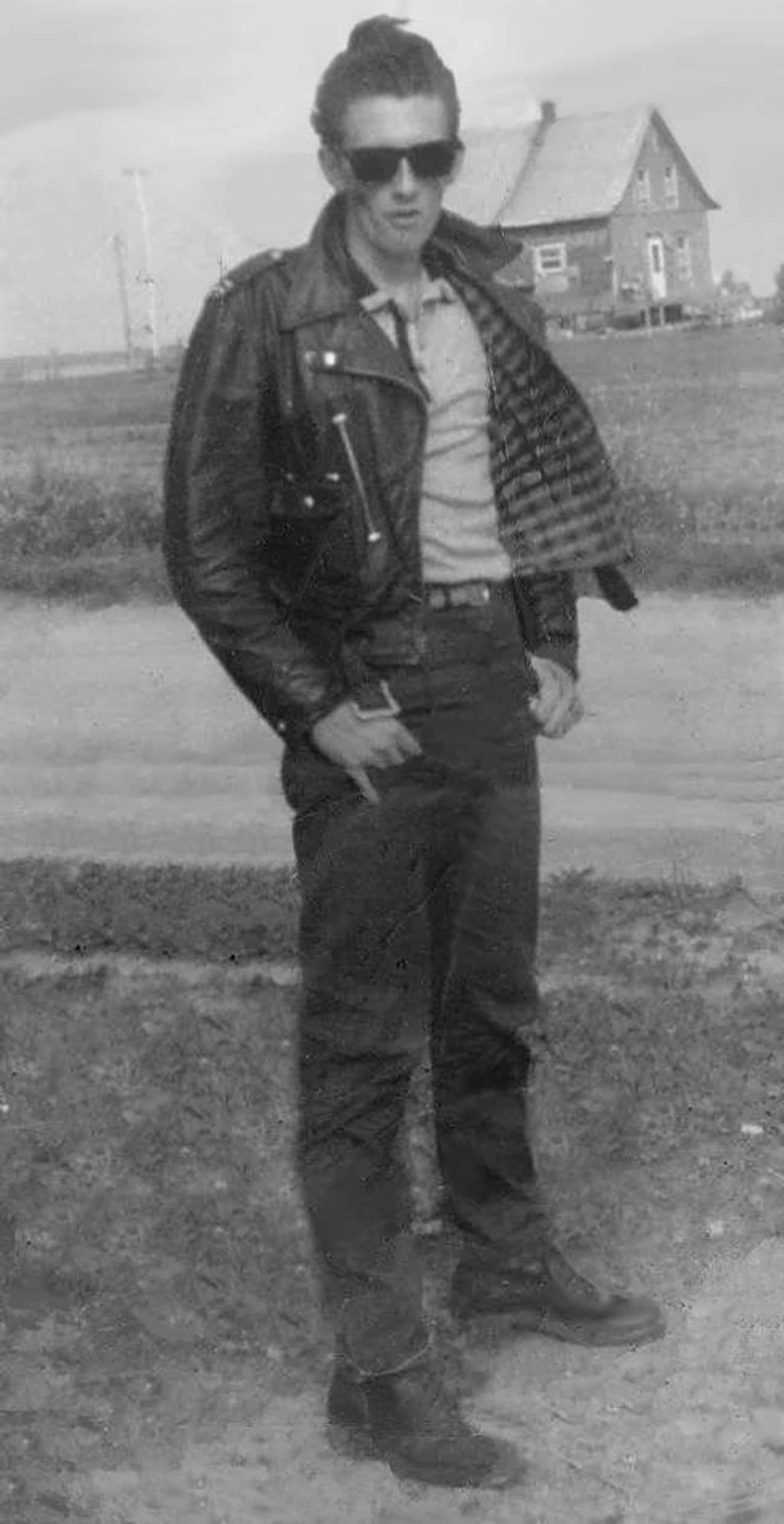 Got His Shades And Swag On is listed (or ranked) 3 on the list 14 Pictures of 1950s Greasers That Prove The Stereotypes Are True