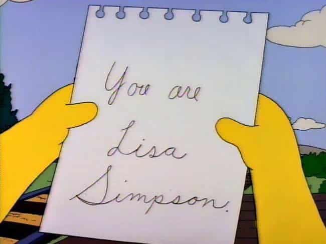 You Are Lisa Simpson - &... is listed (or ranked) 8 on the list 11 Emotional Episodes Of The Simpsons That Made You Cry