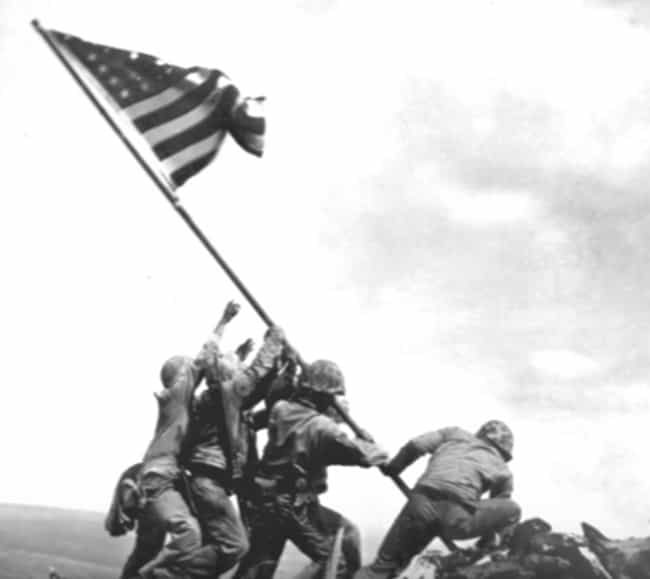 The Iwo Jima Flag-Raising Phot... is listed (or ranked) 2 on the list The Real Stories Behind The Most Famous Military Pictures Of All Time