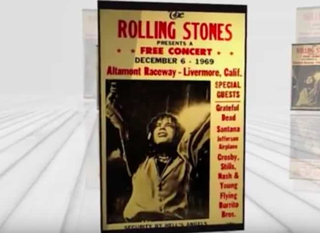 It All Started When Mick... is listed (or ranked) 1 on the list How The Insanity Of The Free Concert At Altamont Killed The Summer Of Love