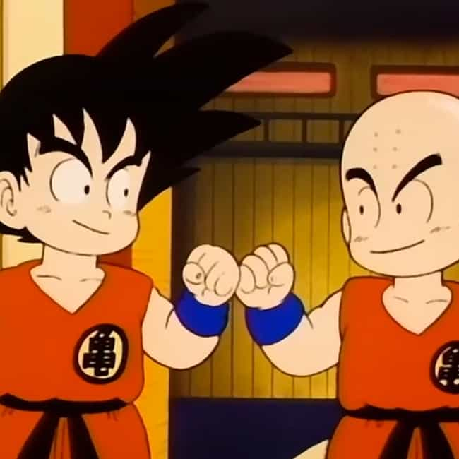 He's Around For The Entire Fra... is listed (or ranked) 2 on the list 18 Reasons Krillin Is The MVP Of Dragon Ball Z