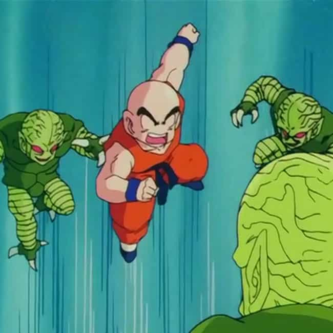 He Killed Hella Saibamen is listed (or ranked) 4 on the list 18 Reasons Krillin Is The MVP Of Dragon Ball Z