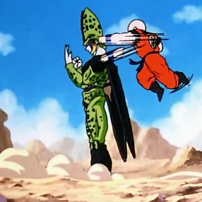He Often Fights Way Above His ... is listed (or ranked) 1 on the list 18 Reasons Krillin Is The MVP Of Dragon Ball Z