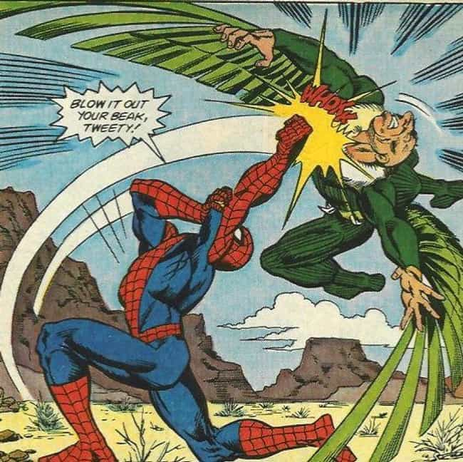 The Vulture Is Really A Bitter... is listed (or ranked) 2 on the list Everything To Know About The Villains From Spider-Man: Homecoming