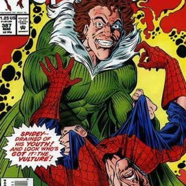 The Vulture's Been Involved In... is listed (or ranked) 3 on the list Everything To Know About The Villains From Spider-Man: Homecoming