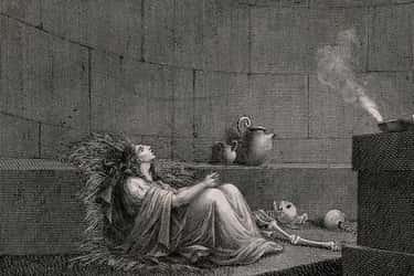 The Perfect Punishment For Lustful Vestal Virgins