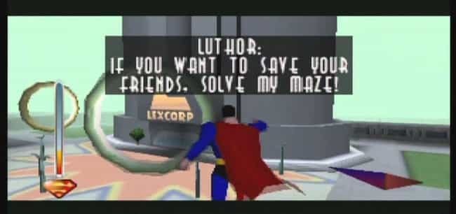 Superman is listed (or ranked) 3 on the list The 14 Biggest Flops In Video Game History