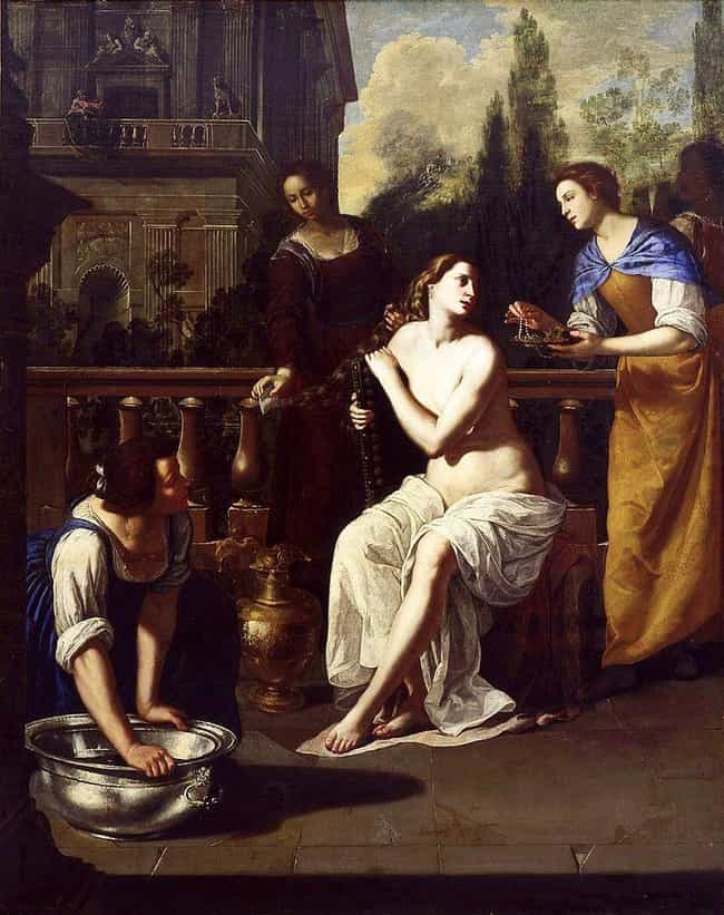 She Was An Artist At A Time Wh... is listed (or ranked) 3 on the list 10 Badass Facts Artemisia Gentileschi, Who Painted Herself Killing Her Assailant