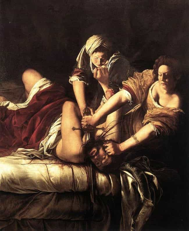 She Painted An Allegory Featur... is listed (or ranked) 2 on the list 10 Badass Facts Artemisia Gentileschi, Who Painted Herself Killing Her Assailant
