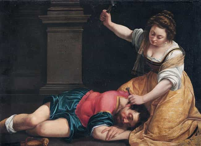 She Painted Images Of Strong W... is listed (or ranked) 4 on the list 10 Badass Facts Artemisia Gentileschi, Who Painted Herself Killing Her Assailant