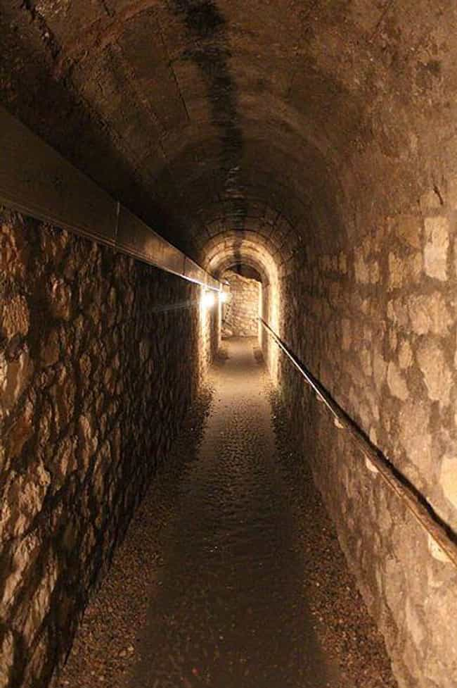 Are You Claustrophobic? ... is listed (or ranked) 3 on the list 21 Haunting Photographs of The Catacombs of Paris