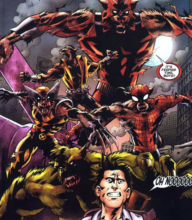 Most Of Earth 7085 is listed (or ranked) 4 on the list 10 Comic Book Characters Who Have Turned Into Werewolves