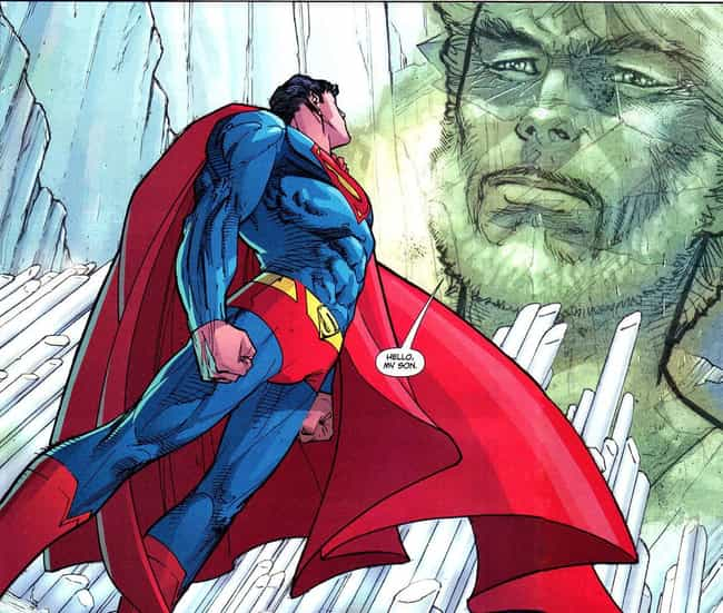 Jor-El's Uploaded Consciousnes... is listed (or ranked) 4 on the list All The Most Insane Things In Superman's Fortress Of Solitude