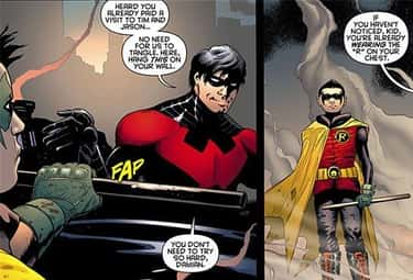 Grayson Is A Well-Rounded Ment is listed (or ranked) 2 on the list Why Dick Grayson Is Better Than Batman