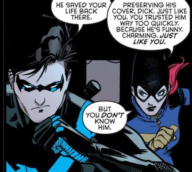 He Has Natural Charisma ... is listed (or ranked) 7 on the list Why Dick Grayson Is Better Than Batman