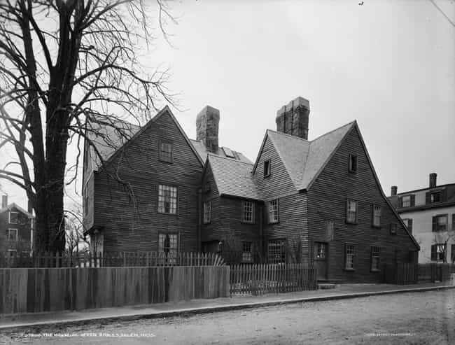 The House Of The Seven Gables ... is listed (or ranked) 3 on the list 14 Terrifying Ghost Stories From Salem, Massachusetts