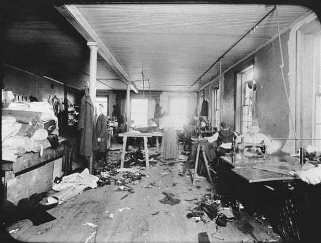 The Place Was A Tinderbo... is listed (or ranked) 1 on the list 13 Tragic Oversights That Led To The Triangle Shirtwaist Factory Fire