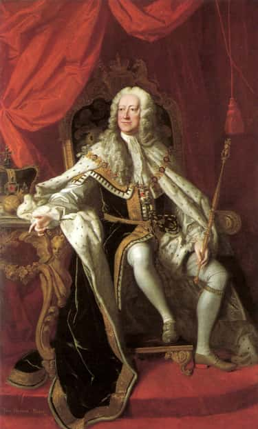 George Became King After His P is listed (or ranked) 2 on the list 15 Bizarre Facts About George III, The Clinically-Insane King Who Lost America