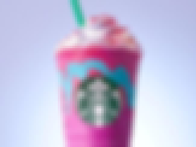 Unicorn Frappuccino is listed (or ranked) 3 on the list Starbucks Secret Menu Items