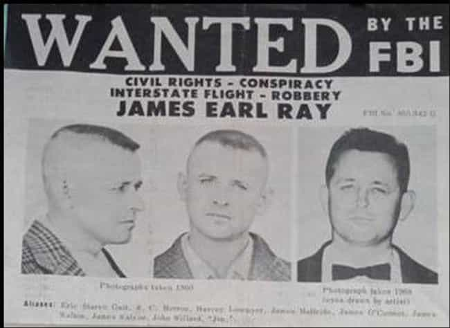 James Earl Ray Fled The ... is listed (or ranked) 2 on the list 14 Events That Happened Immediately After Martin Luther King Jr.'s Assassination
