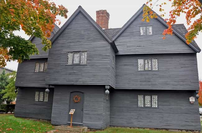 The Jonathan Corwin Hous... is listed (or ranked) 4 on the list 14 Terrifying Ghost Stories From Salem, Massachusetts