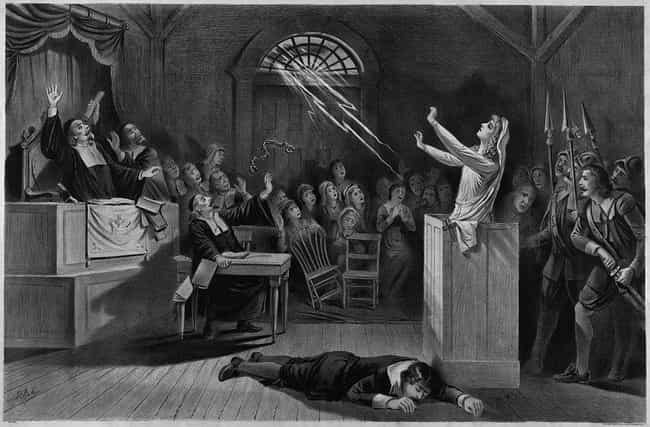 The Old Salem Jail Is No... is listed (or ranked) 8 on the list 14 Terrifying Ghost Stories From Salem, Massachusetts